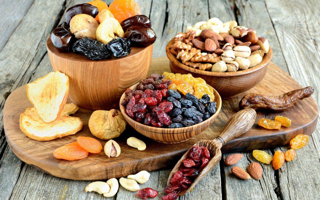 Aszalt gyümölcsök az étrendben